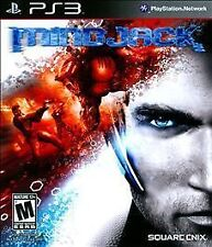 MindJack (Sony PlayStation 3, 2011) Exclusive Ability Pack, NEW! Factory Sealed!