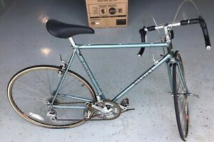 "1980's vtg Nishiki Prestige Road racing Bike bicycle Blue / 21"", 23lbs, 12 speed"