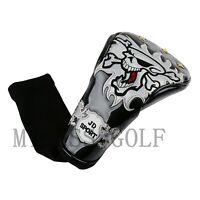 1pcs Skull Design Golf Driver Headcover for Taylormade Ping Red Blue White Black