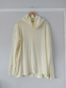 Free People Cream Juicy Long Sleeve Top BNWT Size Small RRP £73