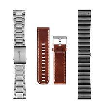 Garmin Fenix3 / Tactix Bravo Replacement Band Leather, Titanium 010-12168-20