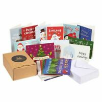 "36 Assorted Merry Christmas Winter Holiday Xmas Greeting Cards w/Envelope 4""x6"""