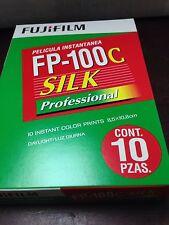 1 Pack Fuji FP-100c SILK Peel Apart Instant Film 2018 Expiration