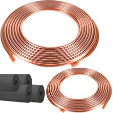 "Copper Line Refrigeration Set  25 feet 3/4"", 3/8"" & Rubatex Insulation"