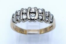 Ring in 14K Yellow Gold Band Size 8 Eye Catching 1.00 Ct Round Cut Diamond Lady