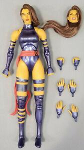 "Marvel Select Psylocke 7"" Action Figure Diamond X-Men Blue 90s Jim Lee Legends"