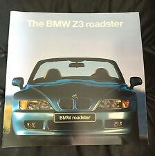 1995 BMW Z3 Roadster Large Original Sales Dealer Brochure Catalog Prospekt