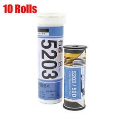 10 Rolls Kodak Vision3 50D/5203 ISO 50 120 Cine Fresh Films Color Negative Film