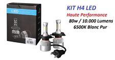 KIT 2 AMPOULE LED H4 ULTRA HAUTE PERFORMANCE 80W 10.000 LUMENS Daimler Chrysler