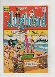 JUGHEAD #196 Fine-, Harry Lucey bikini beach cvr, Samm Schwartz art, Archie 1971