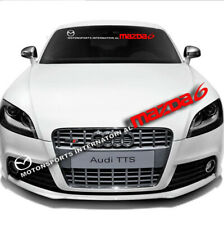 Car Front Window Windshield Banner Decal Exterior For  Motorsport Mazda6 Sticker