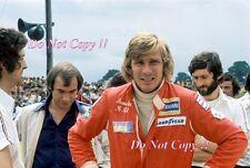James Hunt Hesketh F1 Portrait 1975 Photograph 1