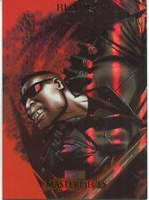 Marvel Masterpieces 2007 Fleer Foil Parallel Base Card #12 Blade