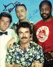 Magnum PI signed cast 8X10 photo picture poster autograph RP 2