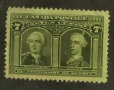 Canada: SG#192  MH VF  thin UL corner, Red spot on gum