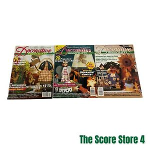 Better Homes & Gardens Decorative Woodcrafts Magazine Lot 94 & 96 Preowned