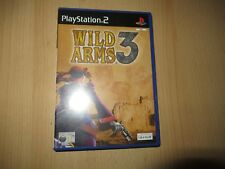 Wild Arms 3 - PlayStation 2 PS2 - mint collectors pal version