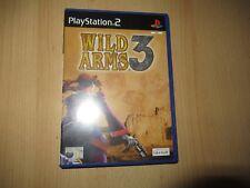 WILD ARMS 3 - PLAYSTATION 2 PS2 - BUEN COLECCIONISTAS Versión Pal
