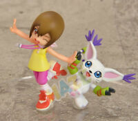 Digimon Gatomon Yagami Hikari Tailmon Digital Adventure Action Figure Model Toys