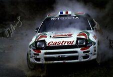 Didier Auriol Toyota Celica Turbo 4WD ST185 RAC Rally 1994 Signed Photograph
