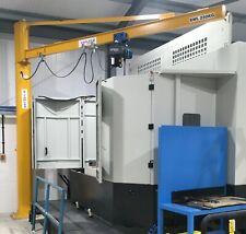More details for jib crane yaplex complete with demag electric chain hoist 125 kg - 2000 kg -  2t
