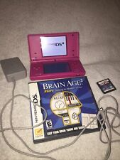Nintendo Dsi Game Console W/ Charger & 2 Games Included
