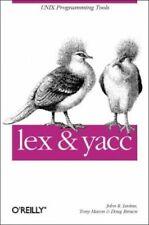 lex & yacc (A Nutshell handbook) by Tony Mason Book Book The Cheap Fast Free