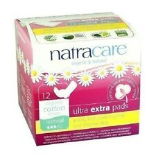 NATRACARE  Ultra Extra Pads Normal 12s (Pack of 3)