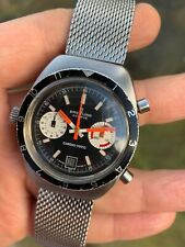Vintage Breitling Chrono-matic Chronograph Mens Watch 2112 Cal.11 Swiss 38mm