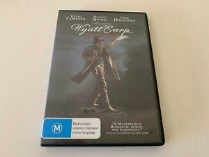 Wyatt Earp DVD Region 4 (VG Condition)