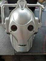 Doctor Who Cyberman Voice Changer Helmet Cosplay Mask Light & Sound Effects