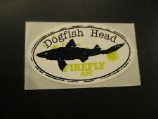 DOGFISH HEAD Firefly Ale tap STICKER decal craft beer brewing brewery