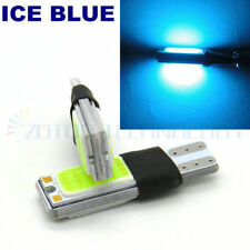 2x ICE BLUE T10 LED 194 W5W COB 48Chips Interior Wedge Light Parking backup Lamp