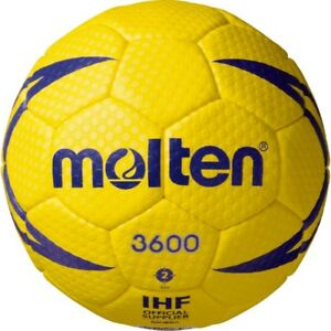 Molten Japan Handball Ball IHF Offiziell Approved H2X3600 Size 2 With Tracking