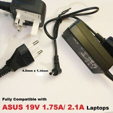 19V Power Adapter, Compatible with ASUS EXA1206CH