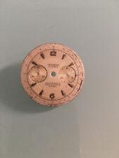 Quadrante per orologio VERBENA vintage chrono 50's Swiss dial