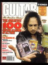 Guitar World Magazine October 2006  Hammett Zeppelin Kiss Boston Pearl Jam MBX66