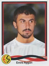N°109 EMRE AYGUN # TURKEY ESKISEHIRSPOR ES STICKER PANINI SUPERLIG 2011
