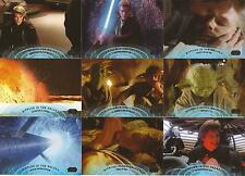 """Star Wars Galactic Files 2 - """"Ripples In The Galaxy"""" Set of 10 Chase Cards"""
