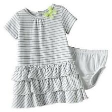 Carter's 2 Piece Tiered Ruffles Dress With Diaper Cover  ~ Size 18 Months