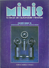 MINIS # 6 Renault 17 R17 1:43 Pocher Mercedes CIJ Renault usine Solido oscar