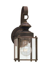 ONE (1) SEA GULL WALL LIGHT SCONCE JAMESTOWNE COLLECTION 8456-71 ANTIQUE BRONZE