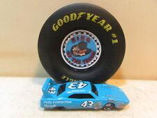1991 Richard Petty 1:64 Diecast # 43 Plymouth Superbird & Goodyear Tire Display