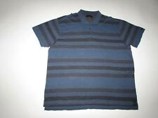 Calvin Klein Jeans Men's Polo Shirt Size 4XL NWT Short Sleeves Blue Gray 4X CK