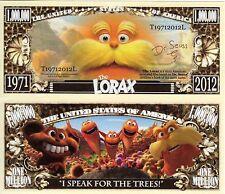 The LORAX - Dr. Seuss Series Million Dollar Novelty Money