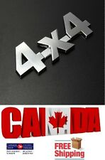 New Car Chrome Metal 3D 4X4 Emblem Badge Auto Motor Sticker Decal Universal