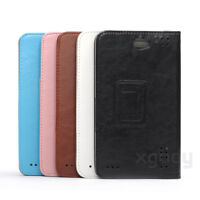 "For XGODY 7"" Android Tablet PC Phablet M874 V7 Universal Folio Leater Case Cover"