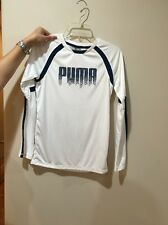 New Puma Long Sleeve Shirt, Kids, Size L (14-16)
