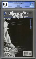 Batman The Dark Knight #15 CGC 9.8 1:25 Sketch Cover (2012) Highest Graded Finch