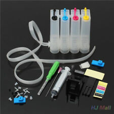 Hazlo tú mismo 4 Colores Tinte Cartucho De Tinta Recargables Ciss montaje encaja con Canon Impresora